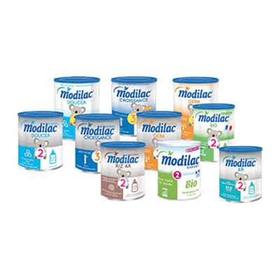 lait modilac 2ème age